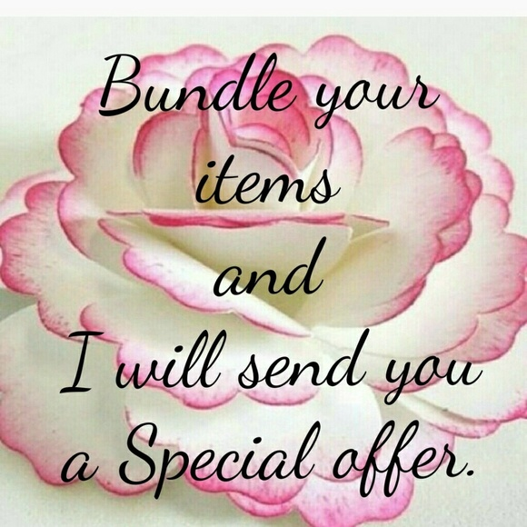 Other - Bundle your item for a Special offer